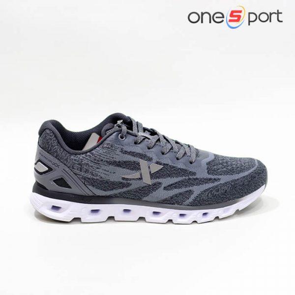 کفش ورزشی مردانه Xtep مدل Reactive Coil طوسی