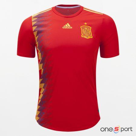 پیراهن تیم ملی فوتبال اسپانیا مارک adidas