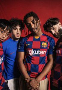 خرید لباس اول بارسلونا