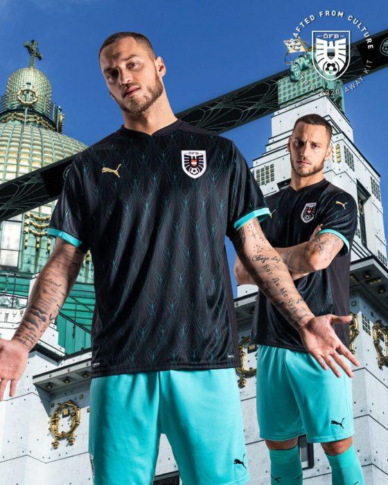 لباس اتریش یورو 2020