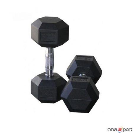 دمبل شش ضلعی 12.5 کیلوگرم