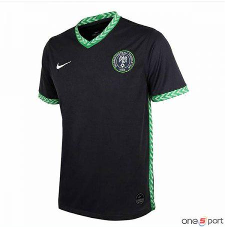 لباس دوم تیم ملی نیجریه