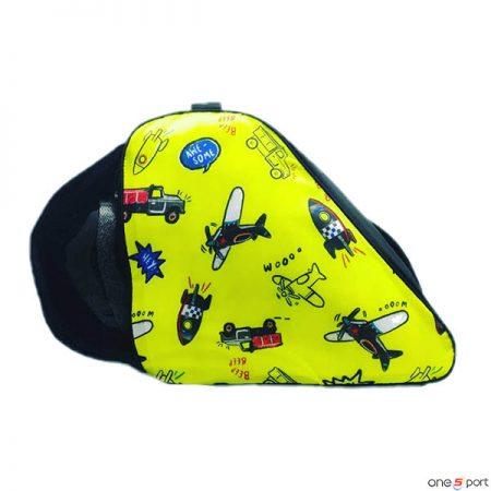 کیف اسکیت بچگانه طرح دار زرد
