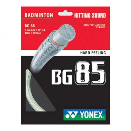 مشخصات و ویژگی های زه راکت بدمینتون یونکس BG85