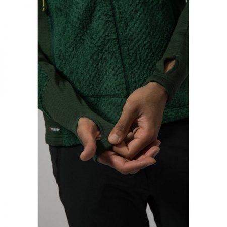 ژاکت لایه میانی کلاه دار Montane مدل Wolf Fleece Jacket16