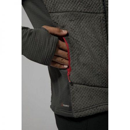 ژاکت لایه میانی کلاه دار Montane مدل Wolf Fleece Jacket3