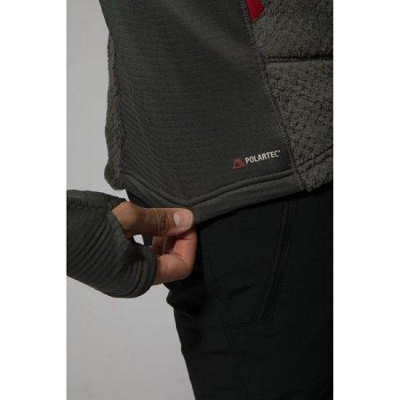 ژاکت لایه میانی کلاه دار Montane مدل Wolf Fleece Jacket4