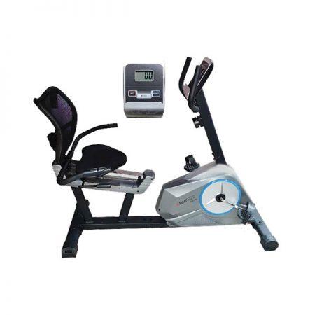 دوچرخه ثابت پشتی دار و نشسته EMH FITNESS 6001R