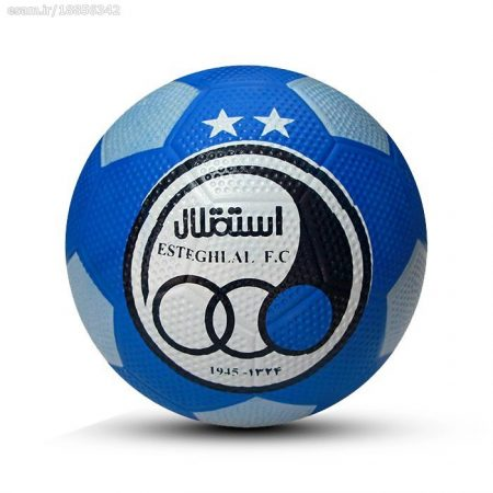 توپ فوتبال لاستیکی استقلال