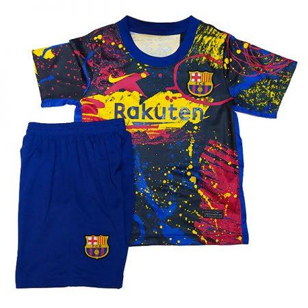 کیت تمرینی بچگانه بارسلونا 2021