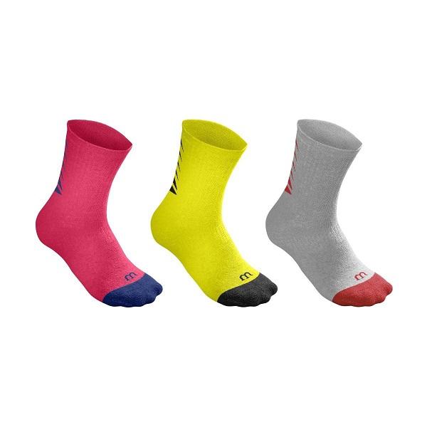 جوراب ویلسون مدل Youth Seasonal Crew Sock 3 تایی