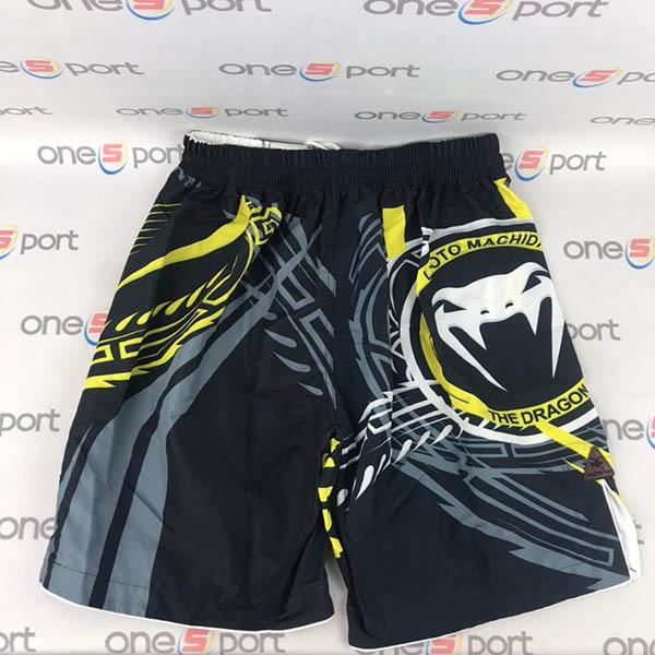 شورت رزمی MMA | مشکی زرد
