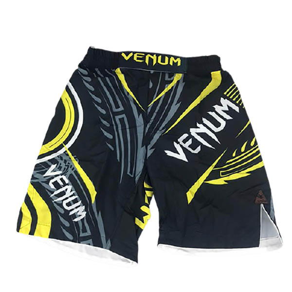 شورت MMA برند VENUM مشکی زرد
