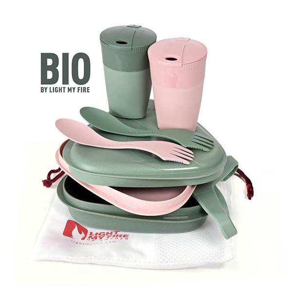 ست غذاخوری دو نفره Pack 'n Eat Kit BIO for 2