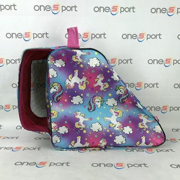 خرید کیف اسکیت بچگانه حرفه ای طرح یونیکورن