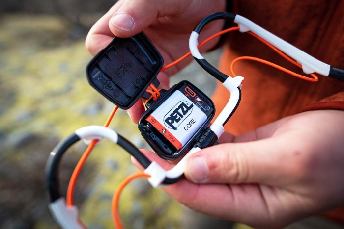 راهنمای خرید هدلامپ: باتری