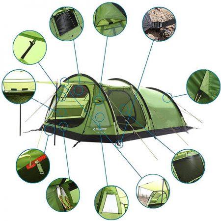 چادر کینگ کمپ مدل KT3056